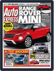 Auto Express (Digital) Subscription November 9th, 2010 Issue