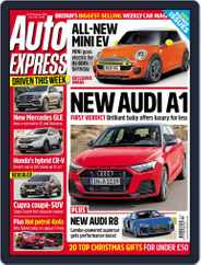 Auto Express (Digital) Subscription November 21st, 2018 Issue