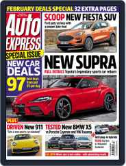 Auto Express (Digital) Subscription January 16th, 2019 Issue