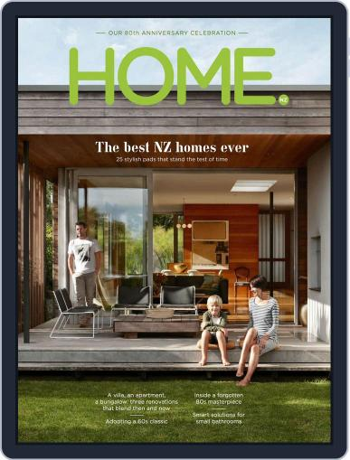 HOME Magazine NZ (Digital) September 30th, 2016 Issue Cover