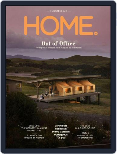 HOME Magazine NZ (Digital) December 1st, 2016 Issue Cover