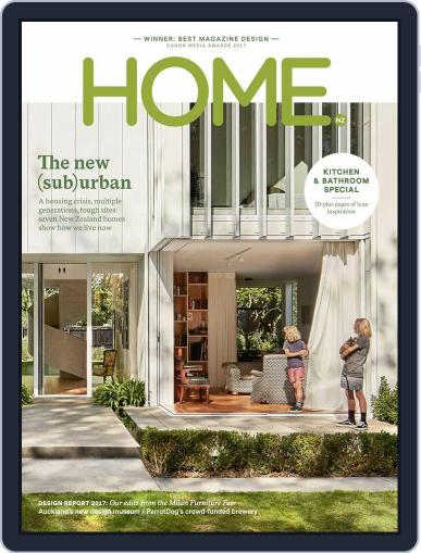 HOME Magazine NZ (Digital) June 1st, 2017 Issue Cover
