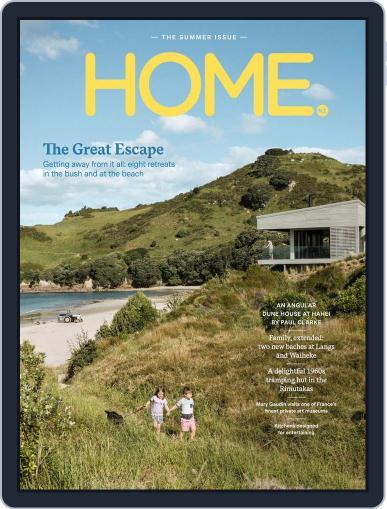 HOME Magazine NZ (Digital) December 1st, 2017 Issue Cover