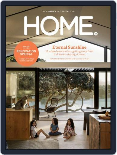 HOME Magazine NZ (Digital) February 1st, 2018 Issue Cover