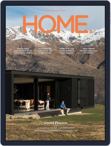 HOME Magazine NZ (Digital) October 1st, 2018 Issue Cover