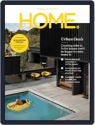 HOME Magazine NZ (Digital) February 1st, 2019 Issue Cover