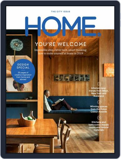 HOME Magazine NZ (Digital) June 1st, 2019 Issue Cover
