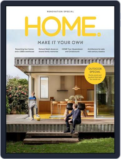 HOME Magazine NZ (Digital) October 1st, 2019 Issue Cover
