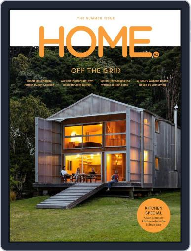 HOME Magazine NZ (Digital) December 1st, 2019 Issue Cover