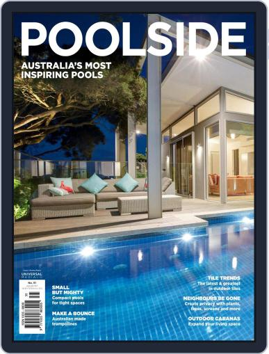 Poolside August 14th, 2018 Digital Back Issue Cover