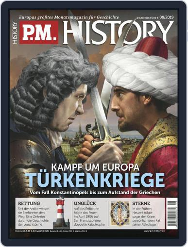 P.M. HISTORY (Digital) August 1st, 2019 Issue Cover