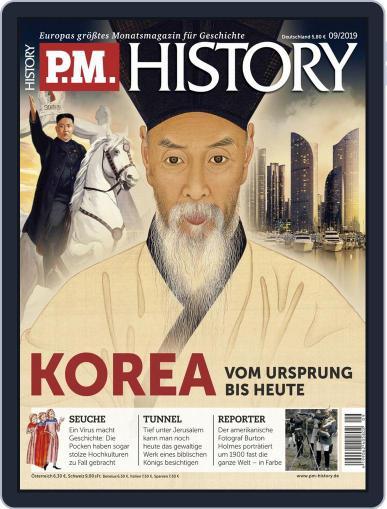 P.M. HISTORY (Digital) September 1st, 2019 Issue Cover