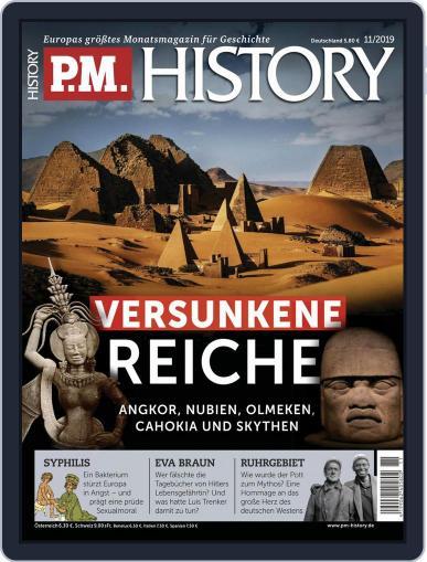 P.M. HISTORY (Digital) November 1st, 2019 Issue Cover