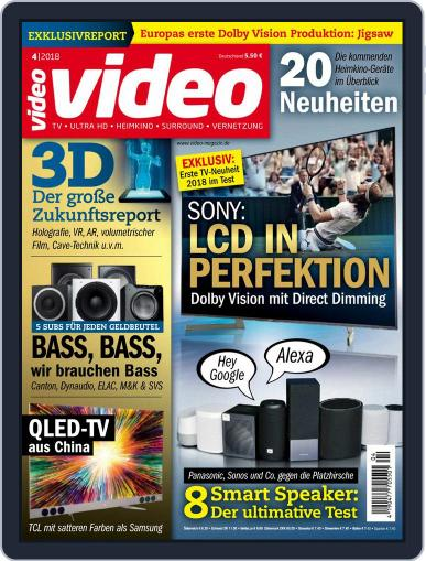video (Digital) April 1st, 2018 Issue Cover