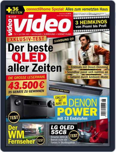 video (Digital) June 1st, 2018 Issue Cover