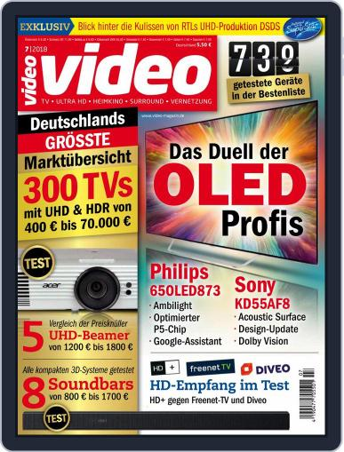 video (Digital) July 1st, 2018 Issue Cover