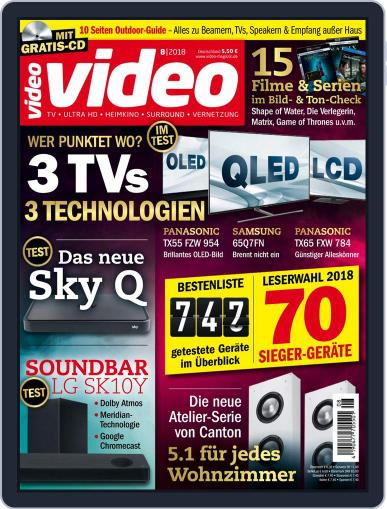 video (Digital) August 1st, 2018 Issue Cover