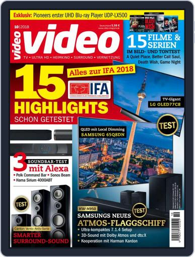 video (Digital) October 1st, 2018 Issue Cover