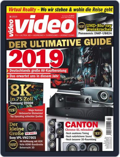 video (Digital) March 1st, 2019 Issue Cover