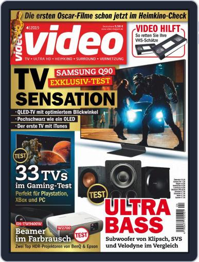 video (Digital) April 1st, 2019 Issue Cover