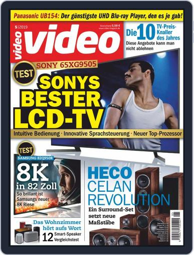 video (Digital) May 1st, 2019 Issue Cover