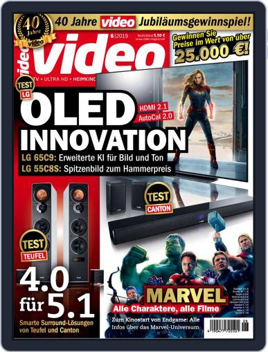 video (Digital) June 1st, 2019 Issue Cover