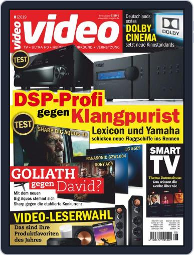 video (Digital) August 1st, 2019 Issue Cover