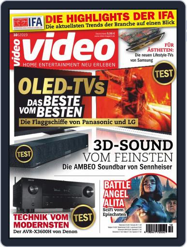 video (Digital) October 1st, 2019 Issue Cover