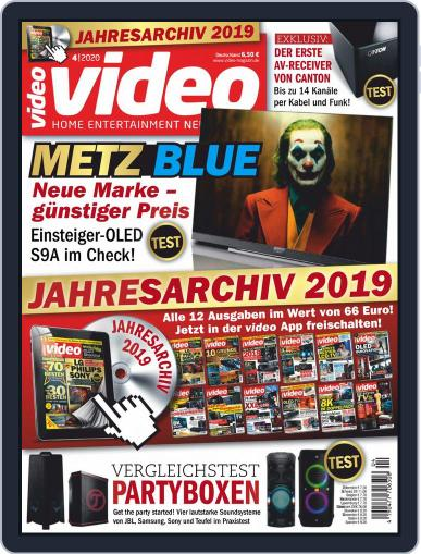 video (Digital) April 1st, 2020 Issue Cover