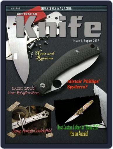 Australian Knife (Digital) August 1st, 2017 Issue Cover