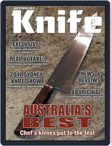 Australian Knife (Digital) November 1st, 2017 Issue Cover