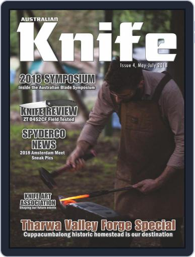 Australian Knife (Digital) May 1st, 2018 Issue Cover