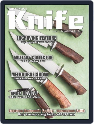 Australian Knife (Digital) August 1st, 2018 Issue Cover