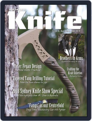 Australian Knife (Digital) November 1st, 2018 Issue Cover