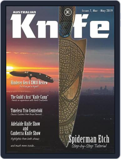 Australian Knife (Digital) March 1st, 2019 Issue Cover