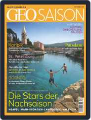 GEO Saison (Digital) Subscription October 1st, 2017 Issue