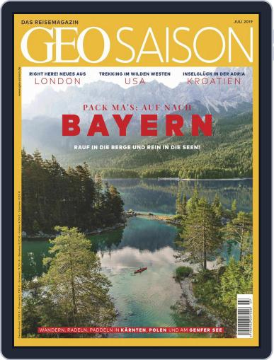 GEO Saison (Digital) July 1st, 2019 Issue Cover