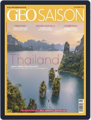 GEO Saison (Digital) October 1st, 2019 Issue Cover