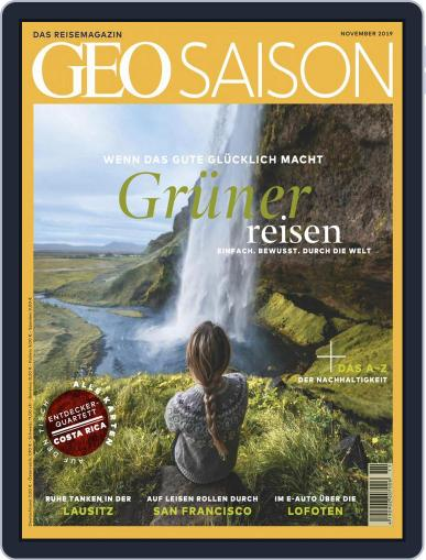 GEO Saison (Digital) November 1st, 2019 Issue Cover