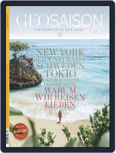 GEO Saison (Digital) December 1st, 2019 Issue Cover