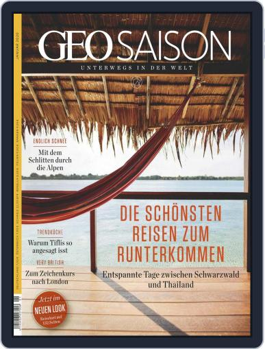 GEO Saison (Digital) January 1st, 2020 Issue Cover