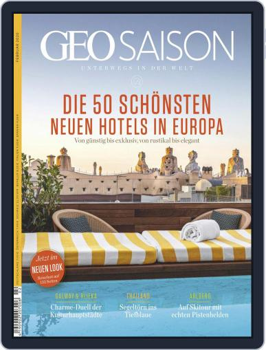GEO Saison (Digital) February 1st, 2020 Issue Cover