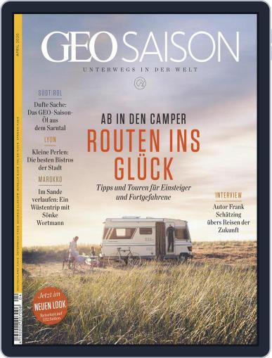 GEO Saison (Digital) April 1st, 2020 Issue Cover