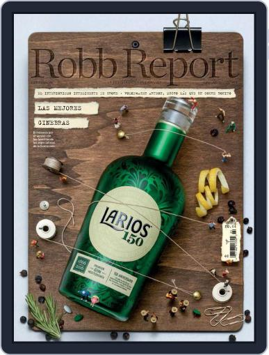 ROBB REPORT - España July 1st, 2017 Digital Back Issue Cover