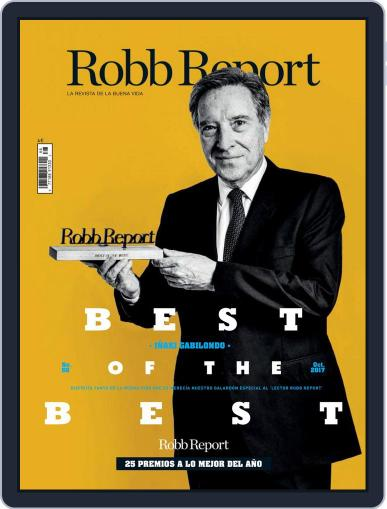 ROBB REPORT - España October 1st, 2017 Digital Back Issue Cover
