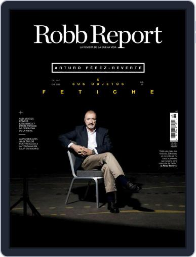 ROBB REPORT - España December 1st, 2017 Digital Back Issue Cover