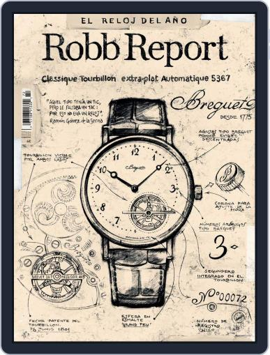 ROBB REPORT - España May 1st, 2018 Digital Back Issue Cover