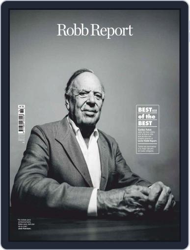 ROBB REPORT - España October 1st, 2018 Digital Back Issue Cover