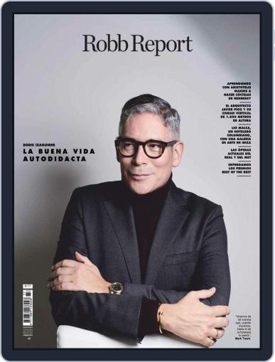 ROBB REPORT - España November 1st, 2018 Digital Back Issue Cover