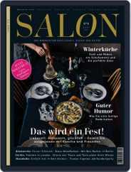 Salon (Digital) Subscription December 1st, 2016 Issue